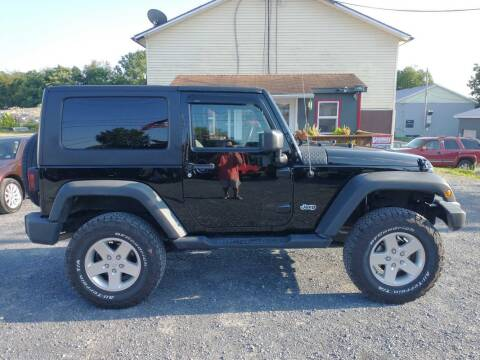 2010 Jeep Wrangler for sale at PENWAY AUTOMOTIVE in Chambersburg PA