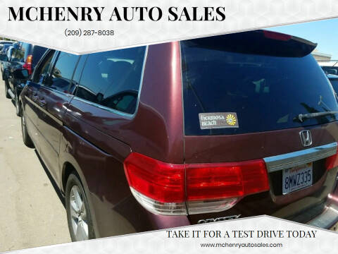 2010 Honda Odyssey for sale at McHenry Auto Sales in Modesto CA