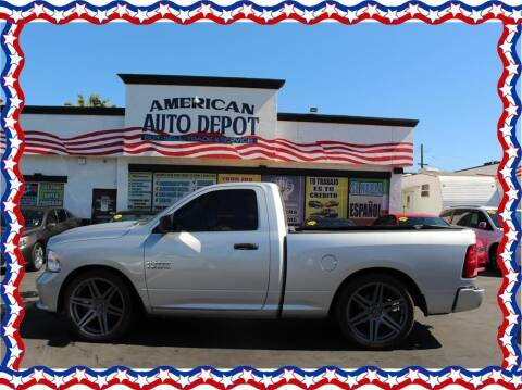 2016 RAM Ram Pickup 1500 for sale at American Auto Depot in Modesto CA