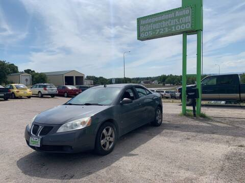 2008 Pontiac G6 for sale at Independent Auto in Belle Fourche SD