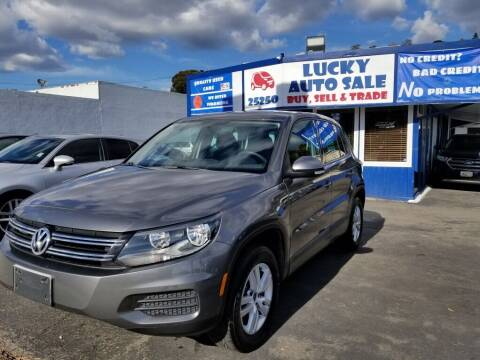 2012 Volkswagen Tiguan for sale at Lucky Auto Sale in Hayward CA