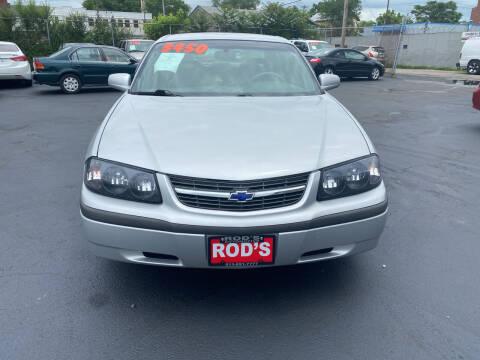 2002 Chevrolet Impala for sale at Rod's Automotive in Cincinnati OH