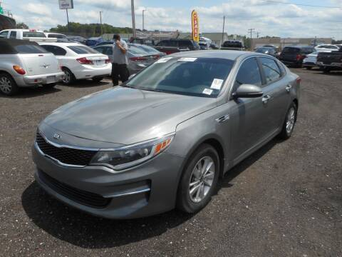 2018 Kia Optima for sale at Auto Center Elite Vehicles LLC in Spartanburg SC