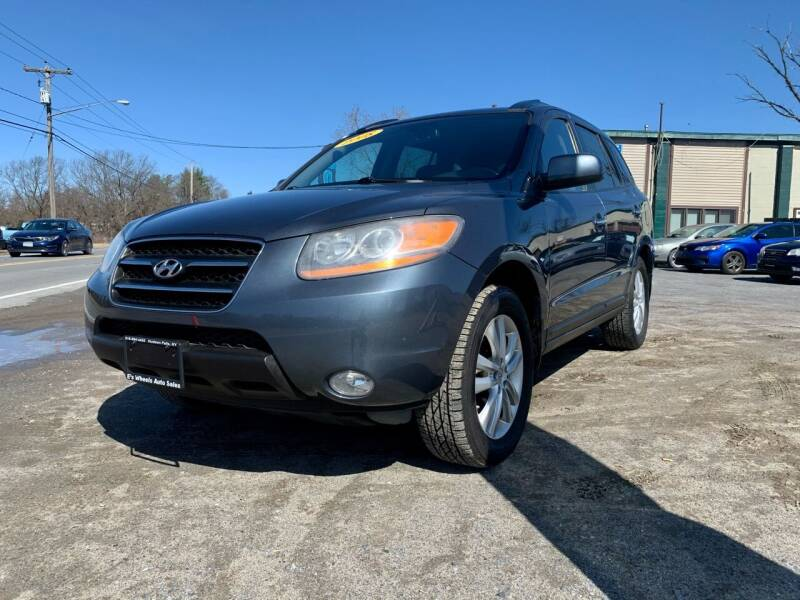 2008 Hyundai Santa Fe for sale at E's Wheels Auto Sales in Hudson Falls NY