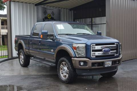 2015 Ford F-250 Super Duty for sale at G MOTORS in Houston TX