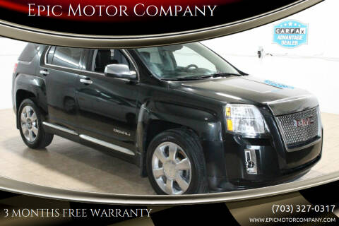 2013 GMC Terrain for sale at Epic Motor Company in Chantilly VA
