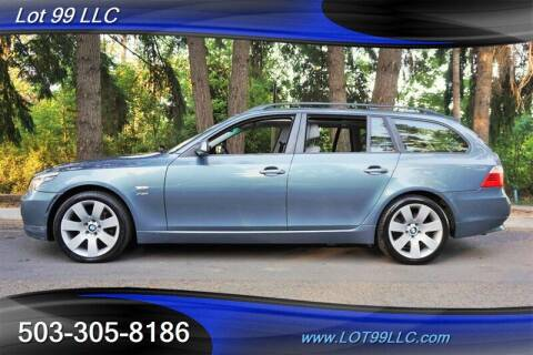 2009 BMW 5 Series for sale at LOT 99 LLC in Milwaukie OR