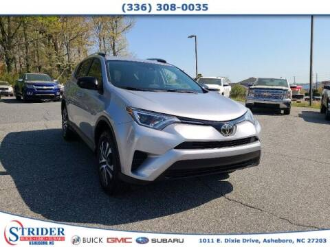 2017 Toyota RAV4 for sale at STRIDER BUICK GMC SUBARU in Asheboro NC