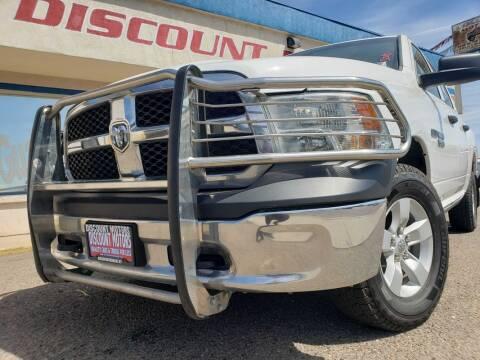 2018 RAM Ram Pickup 1500 for sale at Discount Motors in Pueblo CO
