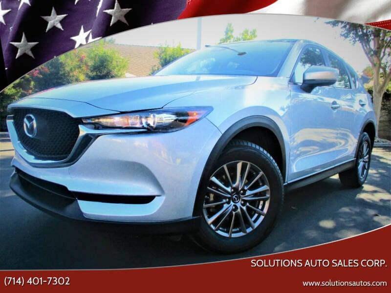 2018 Mazda CX-5 for sale at Solutions Auto Sales Corp. in Orange CA