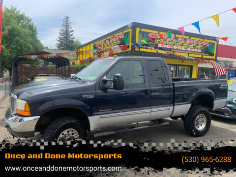 2000 Ford F-250 Super Duty for sale at Once and Done Motorsports in Chico CA