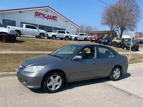 2004 Honda Civic for sale at Efkamp Auto Sales LLC in Des Moines IA