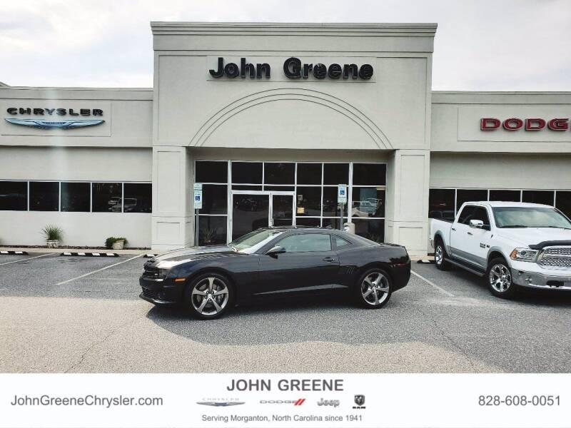 2012 Chevrolet Camaro for sale at John Greene Chrysler Dodge Jeep Ram in Morganton NC
