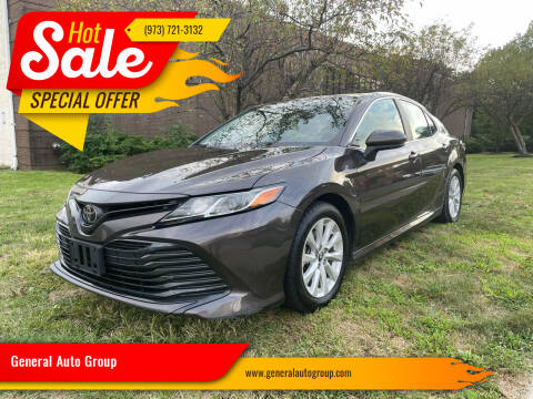 2019 Toyota Camry for sale at General Auto Group in Irvington NJ