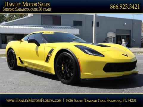 2017 Chevrolet Corvette for sale at Hawley Motor Sales in Sarasota FL