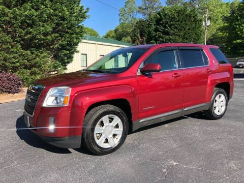 2011 GMC Terrain for sale at GTO United Auto Sales LLC in Lawrenceville GA
