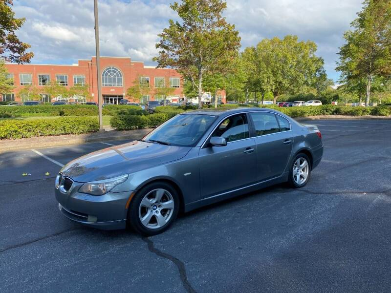 2008 BMW 5 Series for sale at SMZ Auto Import in Roswell GA