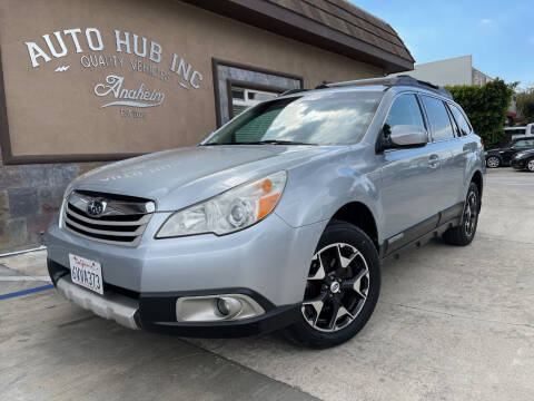 2012 Subaru Outback for sale at Auto Hub, Inc. in Anaheim CA