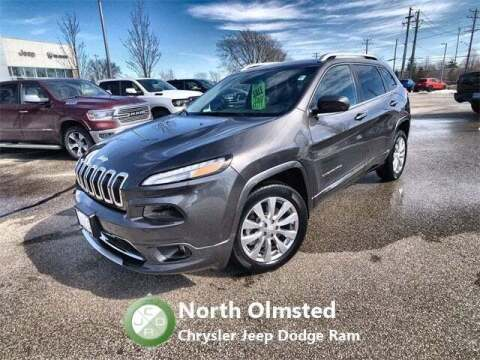 2018 Jeep Cherokee for sale at North Olmsted Chrysler Jeep Dodge Ram in North Olmsted OH