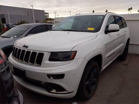 2016 Jeep Grand Cherokee for sale at Camelback Volkswagen Subaru in Phoenix AZ