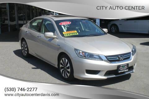 2014 Honda Accord Hybrid for sale at City Auto Center in Davis CA