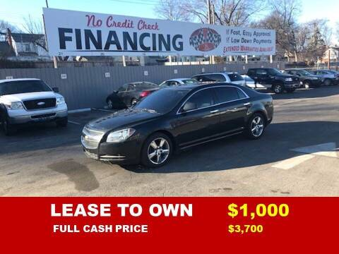 2012 Chevrolet Malibu for sale at Auto Mart USA -Lease To Own in Kansas City MO