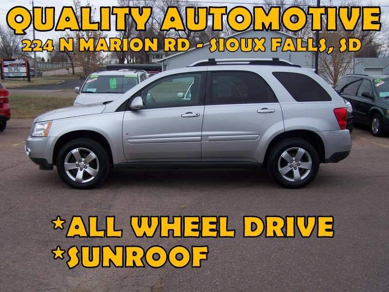 2006 Pontiac Torrent for sale at Quality Automotive in Sioux Falls SD
