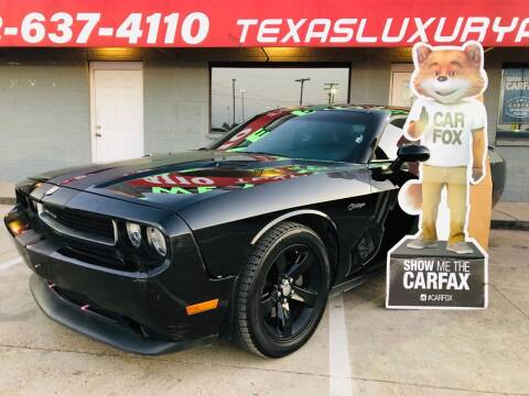 2013 Dodge Challenger for sale at Texas Luxury Auto in Cedar Hill TX