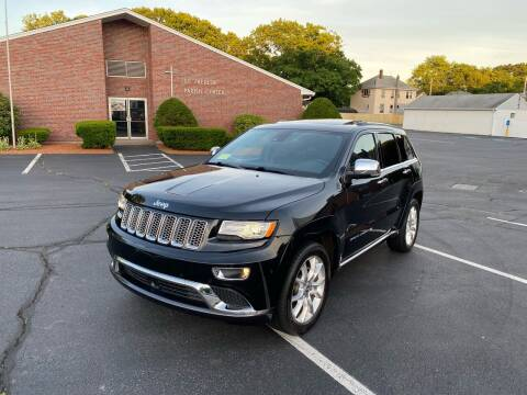 2014 Jeep Grand Cherokee for sale at New England Cars in Attleboro MA