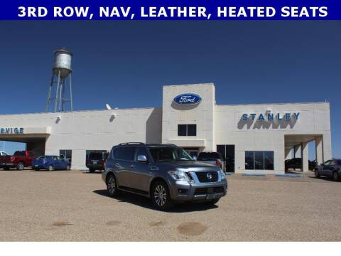 2020 Nissan Armada for sale at STANLEY FORD ANDREWS in Andrews TX