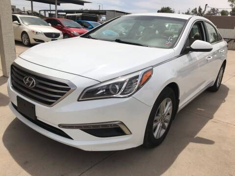 2015 Hyundai Sonata for sale at Town and Country Motors in Mesa AZ