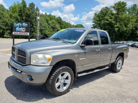 2008 Dodge Ram Pickup 1500 for sale at Let's Go Auto in Florence SC