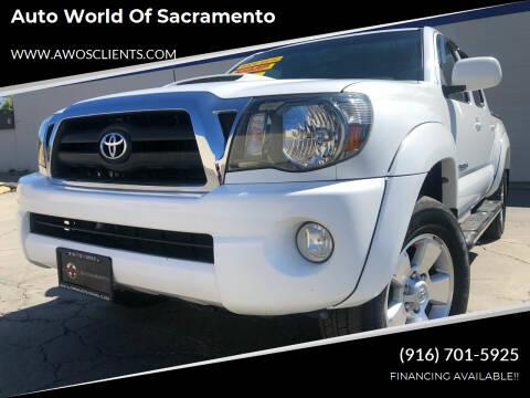 2009 Toyota Tacoma for sale at Auto World of Sacramento Stockton Blvd in Sacramento CA