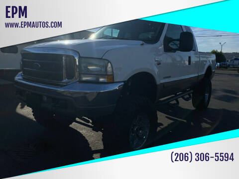 2002 Ford F-250 Super Duty for sale at EPM in Auburn WA