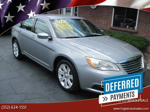 2013 Chrysler 200 for sale at HOGSTEN AUTO WHOLESALE in Ocala FL
