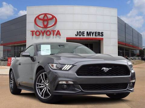 2017 Ford Mustang for sale at Joe Myers Toyota PreOwned in Houston TX