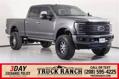 2018 Ford F-350 Super Duty for sale at Truck Ranch in Twin Falls ID