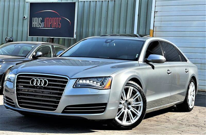 2013 Audi A8 L for sale at Haus of Imports in Lemont IL