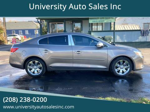2010 Buick LaCrosse for sale at University Auto Sales Inc in Pocatello ID