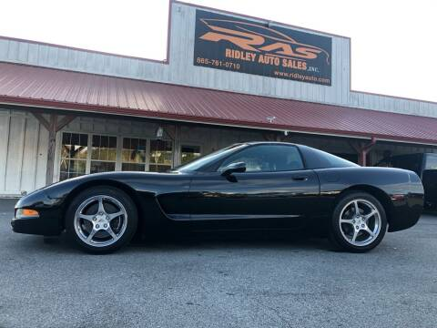 2004 Chevrolet Corvette for sale at Ridley Auto Sales, Inc. in White Pine TN