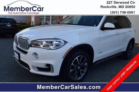 2017 BMW X5 for sale at MemberCar in Rockville MD