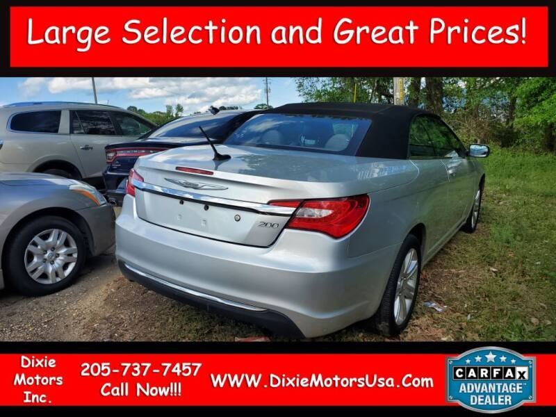 2011 Chrysler 200 Convertible for sale in Northport, AL