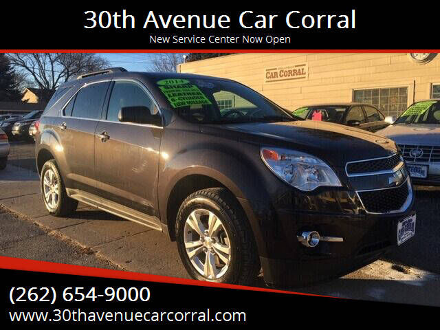 2014 Chevrolet Equinox for sale at 30th Avenue Car Corral in Kenosha WI