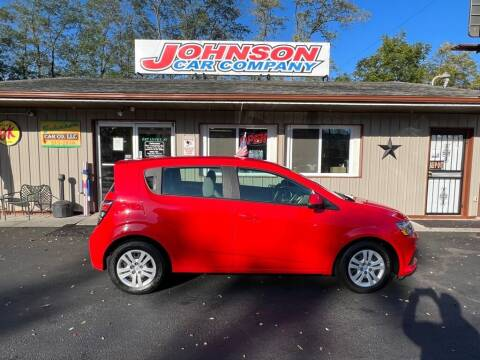 2019 Chevrolet Sonic for sale at Johnson Car Company llc in Crown Point IN