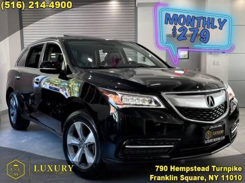 2014 Acura MDX for sale at LUXURY MOTOR CLUB in Franklin Square NY