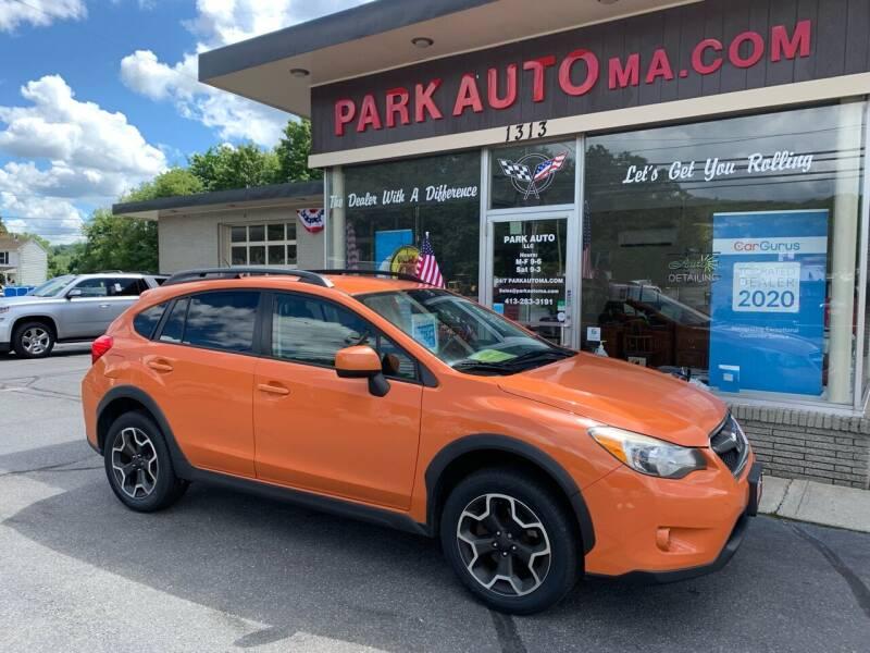 2014 Subaru XV Crosstrek for sale at Park Auto LLC in Palmer MA