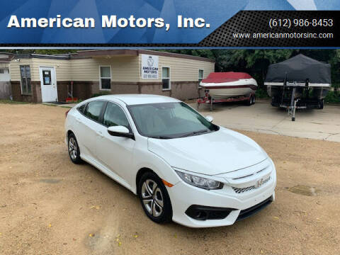 2017 Honda Civic for sale at American Motors, Inc. in Farmington MN