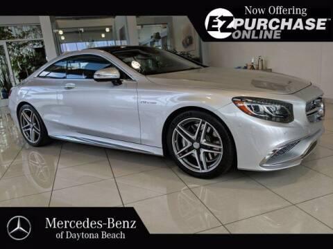 2016 Mercedes-Benz S-Class for sale at Mercedes-Benz of Daytona Beach in Daytona Beach FL