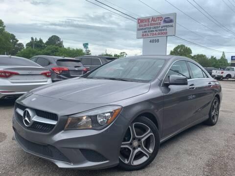 2014 Mercedes-Benz CLA for sale at Drive Auto Sales & Service, LLC. in North Charleston SC