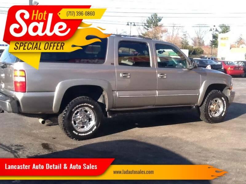 2001 Chevrolet Suburban for sale at Lancaster Auto Detail & Auto Sales in Lancaster PA
